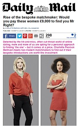 daily mail matchmaking vida consultancy