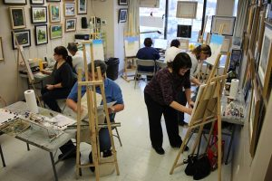 painting class new york date idea